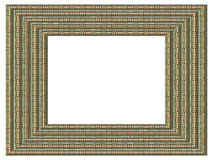 Picture frame generated  texture Stock Image