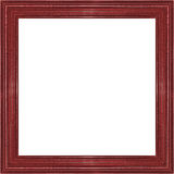 Picture frame gold wood frame in white background. Stock Image