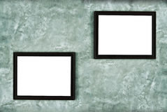 Picture frame hanging on the wall Royalty Free Stock Images