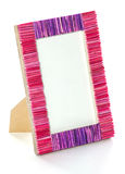 Picture frame. Image is posed on white background Royalty Free Stock Images