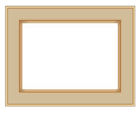 Picture Frame Isolate on White background ,Vector EPS10 illustration royalty free illustration