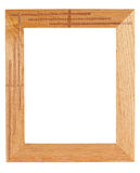 Picture frame. Isolated Stock Photography