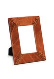 Picture frame isolated. On the  white background Stock Photos