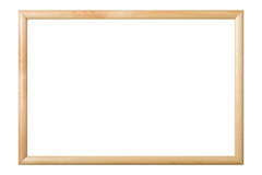 Picture frame isolated, clipping path. Stock Photography