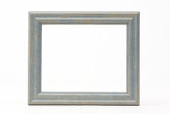 Picture Frame Isolated Over White Stock Images