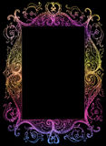 Picture frame isolated, sketch Royalty Free Stock Photo