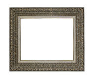 Picture frame isolated on white. Royalty Free Stock Image