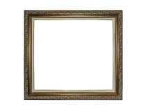 Picture frame isolated on white. Stock Photography