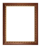 Picture frame isolated on white Royalty Free Stock Photo