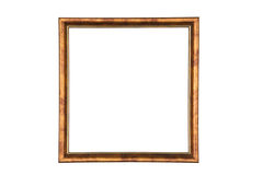 Picture frame. Isolated on white background Royalty Free Stock Photography