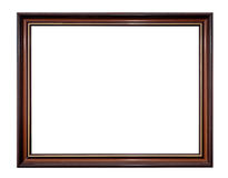 Picture frame isolated on white Stock Photos
