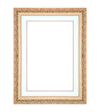 Picture frame isolated on white Stock Images