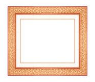 Picture frame isolated on white Royalty Free Stock Photos