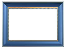 Picture frame isolated on white background Royalty Free Stock Photos