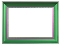 Picture frame isolated on white background. Computer generated 3D photo rendering Stock Photography