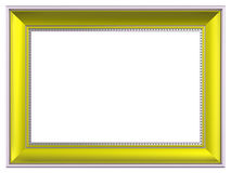Picture frame isolated on white background Royalty Free Stock Photography