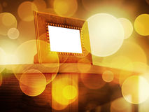 Picture frame in lights dream Royalty Free Stock Images