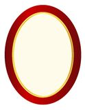 Picture frame oval Royalty Free Stock Photo