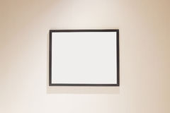 Picture frame and Photo. Art gallery on the wall stock image