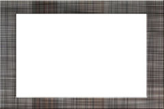 Picture Frame of plaid pattern. Stock Photography
