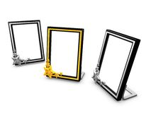 Picture frame,potrait Stock Images