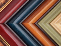 Picture frame samples Royalty Free Stock Photos
