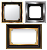 Picture frame set Stock Photo