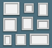 Picture frame set Stock Image
