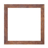 Picture frame of solid wood. Stock Photo