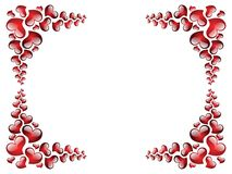 Picture frame to the Valentine's day. Stock Photography