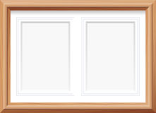 Picture Frame Two In One Royalty Free Stock Photo