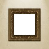Picture frame on wall. Royalty Free Stock Images