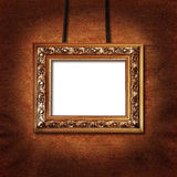 Picture frame on the wall Royalty Free Stock Images