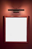 Picture frame on the wall Royalty Free Stock Photography