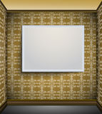 Picture frame on the wall Royalty Free Stock Photos