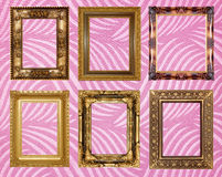 Picture frame Wallpapers Royalty Free Stock Photos