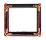 A picture frame on a white Royalty Free Stock Photo