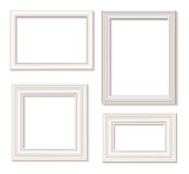 Picture frame white Stock Photography