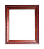 Picture frame. On white background Stock Photos
