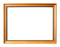 Picture frame. On white background Royalty Free Stock Image