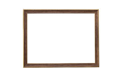 Picture frame on white background Stock Images