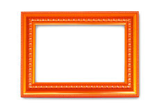 Picture frame on white background Royalty Free Stock Images