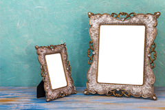 Picture frame with white space in side Royalty Free Stock Photos