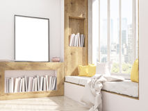 Picture frame and window seat Stock Images
