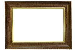 Picture frame. Wood picture frame Stock Image