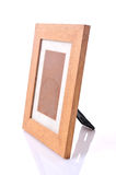 Picture frame, wood plated stock photo