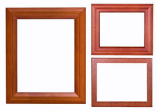 Frame wood style Stock Images