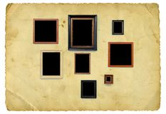 Picture frames Royalty Free Stock Photos