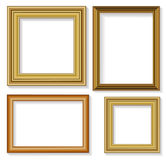 Picture frames. The four frames for picture Royalty Free Stock Images
