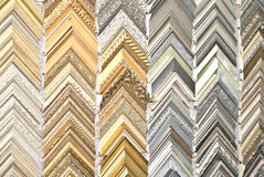 Picture Frames Background Royalty Free Stock Photo